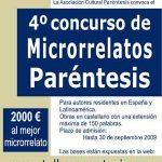 IV Concurso de Microrrelatos Paréntesis